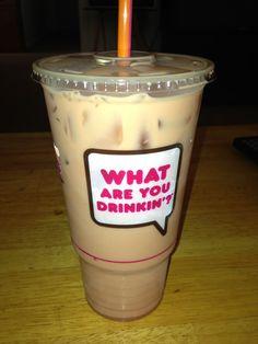 Dunkin Donuts Iced coffee <3