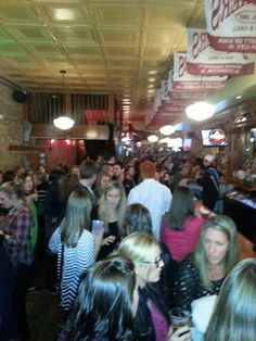 Crowds at PT Pub Night