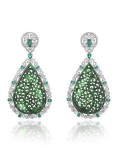 Chopard - Haute Joaillerie Earrings | GF Luxury I www.gf-luxury.com...