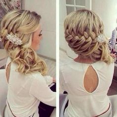 Splendid Braids: Wedding Hairstyle