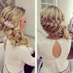 Splendid Braids: Wedding Hairstyle