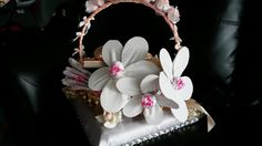 Order from Ain, Putrajaya - Telekung folded into flowers