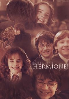 Harry and Hermione as friends <3