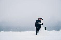 Eine verschneite Weihnachtshochzeit in Luzern - a snowy christmas wedding in Lucerne