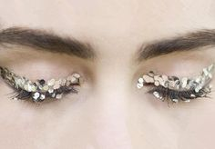 Runway make-up at Chanel Fall/Winter 2013 RTW at Paris Fashion Week.