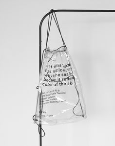 Design Trends - Transparency in Design? Design Trends - Transparency in Design? Bag Packaging, Packaging Design, Branding Design, Logo Design, Graphic Design, Design Design, Packaging Ideas, Plastic Packaging, Visual Diary