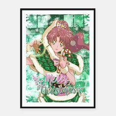 Merry Xmas Sailor Jupiter Framed poster