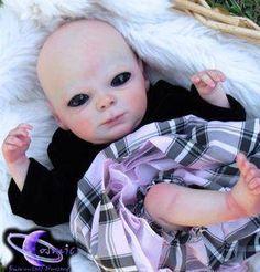 Alien/ BEK Hybrid, Cosmic Encounters Nursery alien baby reborn doll July 4, 2017