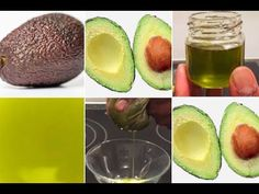 DIY Cold Pressed Avocado Oil. Easy To Prepare. - YouTube Avocado Butter, Fresh Avocado, Avocado Oil, How To Prepare Avocado, Canned Blueberries, Cold Pressed Oil, Scones Ingredients, How To Make Oil, Vegan Blueberry