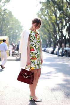 70 Bellissima Milan Street-Style Shots #refinery29  http://www.refinery29.com/54070#slide55  Another type of juicy couture.