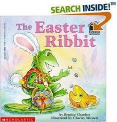 Easter Ribbit book
