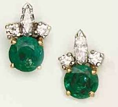 Beautiful green and they look super cute! I want these!