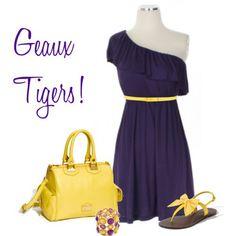 Geaux tigers! :)