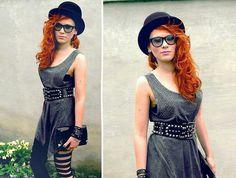 Rocker ⓢⓣⓨⓛⓔ Rocker girl fashion chic outfit inspiration