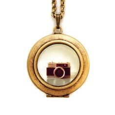 My design inspiration: Minolta Petite Locket Necklace on Fab.