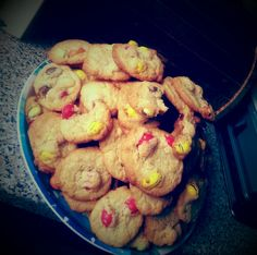Selfmade M&M Cookies #readyfortomorrow #germanlesson