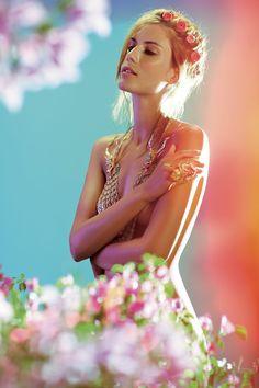 ADORN Beauty.Jewelery Spread May 2013 by Ashish Arora, via Behance