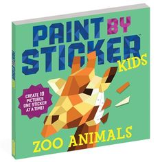 Paint by Sticker Kids: Zoo Animals - Art - Timberdoodle Co