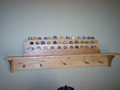 Military Coin Holder Shelf - another idea