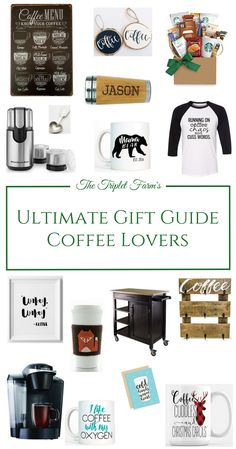 Calling all coffee lovers. Well, actually, friends and family of coffee snobs. I say snob very lovingly because I am one too! I've put together a great Christmas gift guide for coffee lovers in your life.