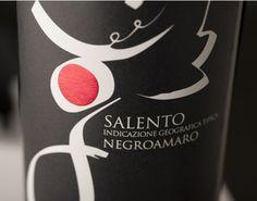 Packaging Negroamaro // Azienda Giannico #wine #packaging #design