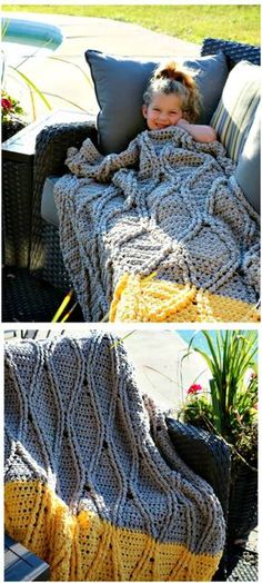100 Free Crochet Blanket Patterns to Try Out This Weekend - Page 3 of 3 - DIY & Crafts