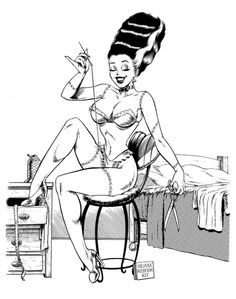 Brings a new meaning to seamed stockings