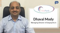 Dhaval delivers a combo of education, mental health & IT care with Edupsyche
