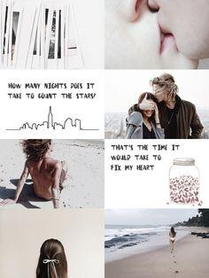 poppy litchfield & rune kristiansen + aesthetic (a thousand boy kisses) ; infinity - one direction
