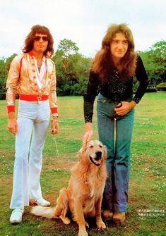 Freddie,John and a furry friend. =µ)