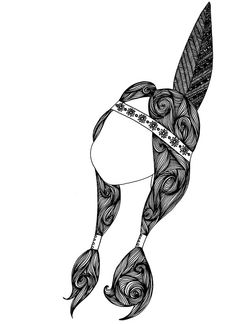 princess tiger lily | coloriage | Hipster drawings, Tumblr ...