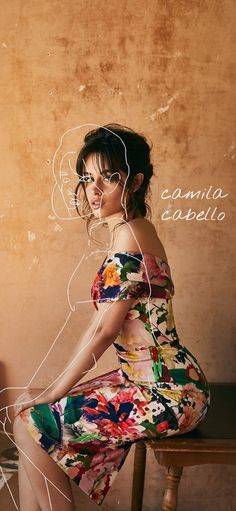 For the camila cabello fans. Obsessed with this overlay 😂😂 Overlays, Shoulder Dress, Fans, Dresses, Fashion, Camila Cabello, Vestidos, Moda, Fashion Styles