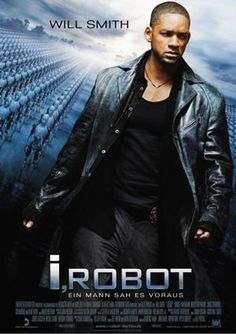 I, Robot starring  Will Smith, Bridget Moynahan & Bruce Greenwood