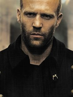 I prefer my men to have a full head of hair, but i just can't ignore the extremely appealing masculinity of Mr Jason Statham ;)