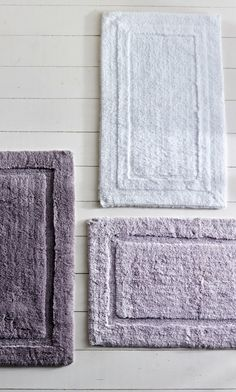 Resort Cotton Bath Rug. Crafted from the same heavenly soft and substantial long-staple cotton as our Resort Towels, these coordinating rugs are deliciously plush underfoot.