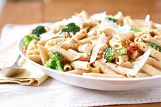 Penne with Chicken, Broccoli and Sundried Tomatoes