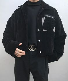The Best Examples for Korean Street Fashion Edgy Outfits, Grunge Outfits, Fashion Outfits, Guy Fashion, Mens Fashion, Simple Outfits, Winter Fashion, Streetwear Mode, Streetwear Fashion