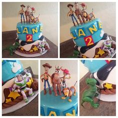 Toy Story birthday cake Toy Story Birthday Cake, Toy Story Party, 3rd Birthday, Birthday Ideas, Happy Birthday, Cake Ideas, Party Planning, Jin, Turning