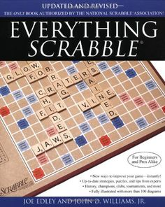 Everything Scrabble by Joe Edley - Simon & Schuster - ISBN 10 0671042181 - ISBN 13 0671042181 - For both the beginner and the seasoned pro… Two Letter Words, 3 Letter, Quizzes Games, Scrabble Words, Trivia Quiz, Words Worth, Word Play, Book Summaries, Word Games