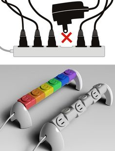 Rotating 360° Power Strip