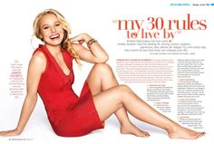 Kristen Bell's 30 rules to live by