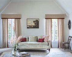 A Cornice can make a window appear larger and grander than it actually is