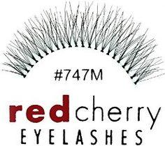 Red Cherry - Falsche Wimpern 747M Echthaar