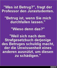 Was ist Betrug? | DEBESTE.de, Lustige Bilder, Sprüche, Witze und Videos