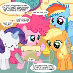 Filly comic