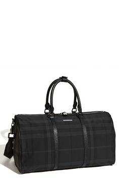 Burberry Duffel Bag available at #Nordstrom