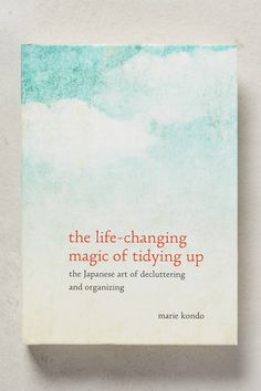 Anthropologie The Life-Changing Magic Of Tidying Up