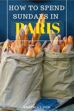 How To Spend Sundays In Paris - The Marais District
