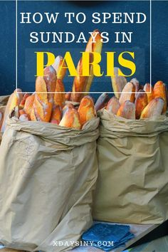 How To Spend Sundays In Paris - The Marais District