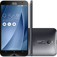 "Americanas Smartphone Asus Zenfone 2 Dual Chip Android Tela 5.5"" 16GB 4G Wi-Fi 13MP - R$1.038,05"